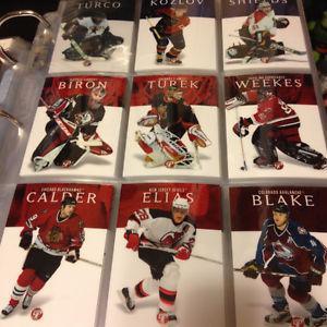 Topps Pristine - Near Complete set (Hockey cards)