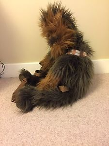 Wanted: 2'3 ft Chewbacca Backpack with Satchel