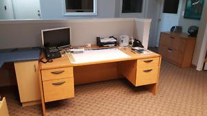 Wanted: Executive desk with matching 2 drawer file cabinet