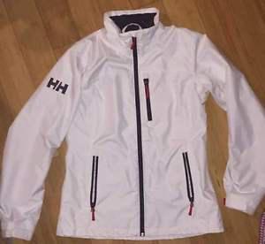 Womens white Helly Hansen jacket