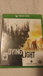 Xbox 1 dying light looking to trade or sell for 25