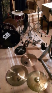 drum kit cymbals pedals and more!