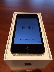 iPhone 4 unlocked Factory Reset Excellent Condition
