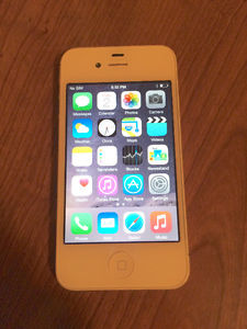 iPhone 4s 16GB white good condition