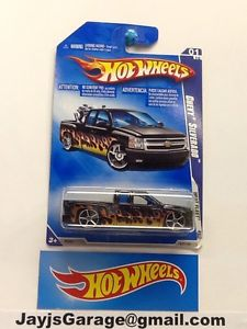 2-HOT WHEELS CHEVY SILVERADO's VERY HARD TO FIND