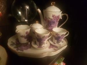 Adaline miniature tea set from the antique mall