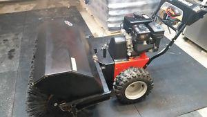 Ariens 36 inch power brush sweeper much more snow in