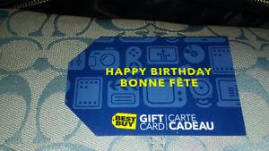 *** $ BEST BUY GIFT CARD FOR SALE ***