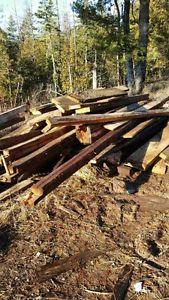 Barn boards and beams