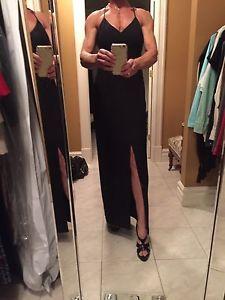 Black prom or bridesmaid dress