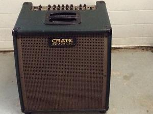 CRATE ACOUSTIC AMP