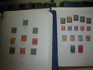 Collection of Australian and New Zealand stamps