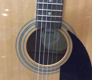 Fender Acoustic Guitar With Stand!!