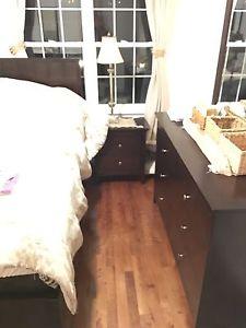 Four Piece Queen Bedroom Set For Sale