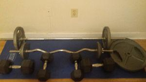 ***GREAT DEAL*** Weight Set for sale!!