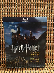 Harry Potter Collection 1-8 (8-Disc Blu-ray)JK