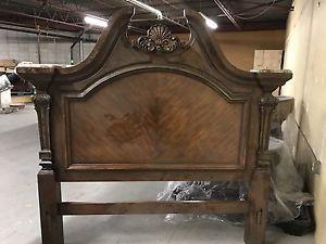 High End Solid Wood Bedroom Set