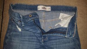 Hollister jean shorts size 3/ 26 waist