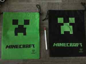 MINECRAFT -party favours - goodie bags, pins, and tattoos
