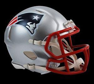 "New England Patriots Riddell ""Speed"" Mini Helmet (New)"