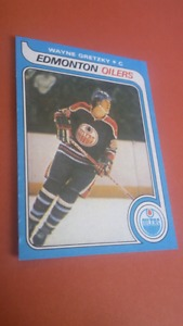 O-pee-chee Wayne Gretzky Edmonton Oilers Rookie Card
