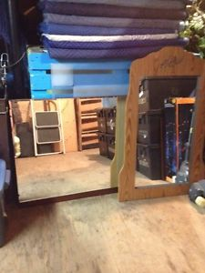 Old dresser mirrors for sale