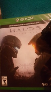 Selling halo 5 brand new still in packaging