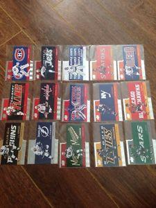 Tim Horton hockey cards
