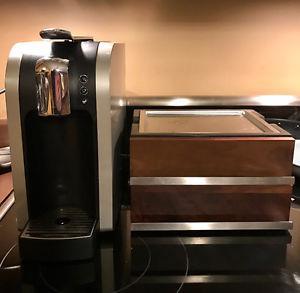 Verismo Machine + coffee pod storage case