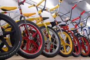 WANTED VINTAGE 'S OLD BMX BIKES & STICKERS/DECALS &