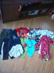 boys clothing lot 20 items 9-12 month