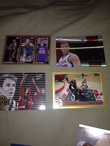 Basketball rookie cards