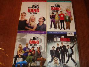 Big Bang Theory Seasons 1-4 for $25