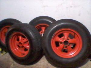 Cragar ss Rims & all season tires like NEW