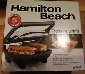 Hamilton Beach ~ Panini Press