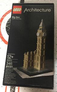 Lego Architecture Big Ben London Set MIB New #