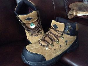 "Men's Steel Toe Work Boots ""New"""