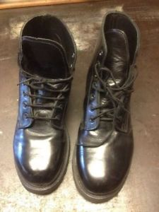 Military / Army Size 7 Mens Steel Toe Boots