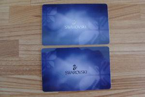 New Swarovski Gift Cards
