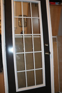 "One outside Steel Door 2'8""F138 I/S"