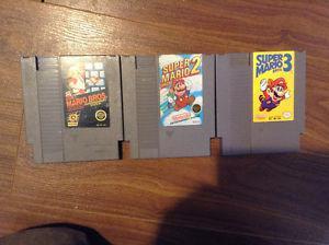 Super Mario bros 1,2,3