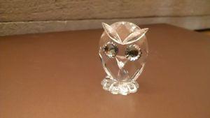 Swarovski Crystal Owl