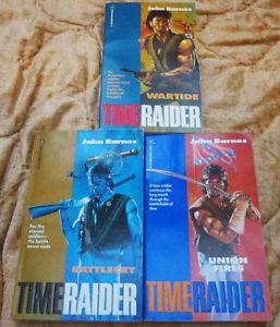 The Timeraider Trilogy by John Barnes PB