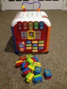 Vtech alphabet activity cube