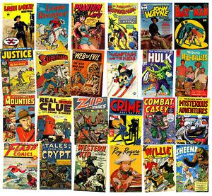 Wanted: $ WANTED $ Old Comic Books