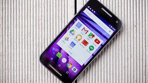 Water resistant unlocked Motorola Moto G3 with fosmon case