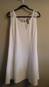 White summer dress size 1x