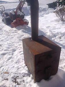 Wood stove 150$ obo