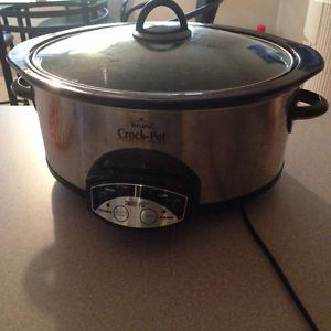 slow cooker/ crockpot