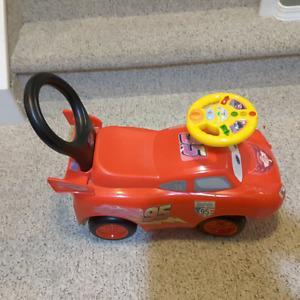 Disney Cars Ride on Toy